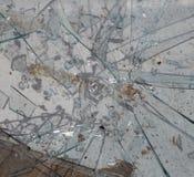 Brutet exponeringsglas, kan användas som bakgrund Arkivbild