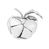 Brutet keramiskt äpple vektor illustrationer