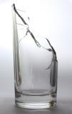Brutet vattenexponeringsglas Arkivfoton