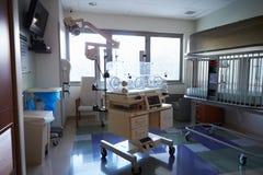 Brutkasten im Beitrag Natal Hospital Department Lizenzfreie Stockfotografie