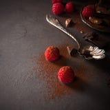 Brutna chokladstycken Royaltyfri Fotografi