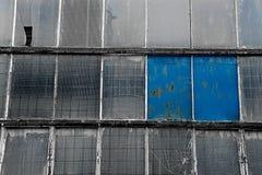 Brutna fönster Arkivfoton
