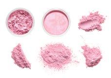 Brutna kosmetiska produkter Arkivfoton
