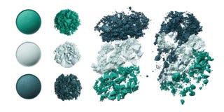 Brutna kosmetiska produkter Arkivbilder