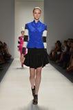 Bruto - semana de la moda de Nueva York foto de archivo