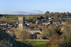 Bruton from the Dovecote