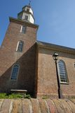Bruton Parish Episcopal Church. Of British Colony, Williamsburg, Virginia Royalty Free Stock Images