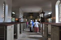 Bruton Parish Episcopal Church en Williamsburg, Virginia foto de archivo libre de regalías