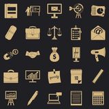 Brutto- produktsymbolsuppsättning, enkel stil stock illustrationer