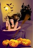 A bruxa Foto de Stock Royalty Free