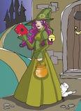 Bruxa ilustração royalty free