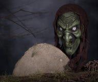 Bruxa assustador fotos de stock