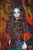 Bruxa de Dia das Bruxas foto de stock