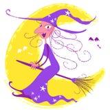 Bruxa de Halloween Imagens de Stock