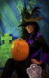 Bruxa de Halloween Fotografia de Stock