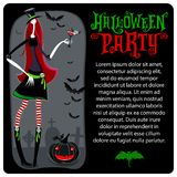 Bruxa de Halloween Molde do vetor Série de Dia das Bruxas ilustração do vetor