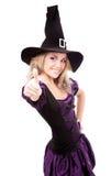 Bruxa feliz Imagem de Stock Royalty Free