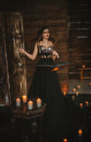 A bruxa molda um período Fotografia de Stock