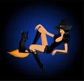 Bruxa 'sexy' ilustração do vetor