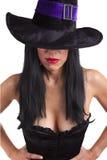 Bruxa 'sexy' Imagem de Stock Royalty Free