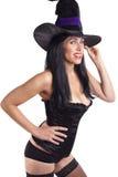 Bruxa 'sexy' Imagem de Stock