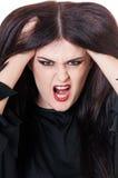 Bruxa violenta Imagem de Stock Royalty Free