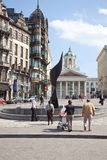 Bruxelas, arquitectura da cidade Imagens de Stock