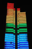 Dexia torre de 137 m de altura Imagem de Stock Royalty Free