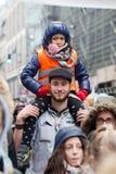 Bruxelas, Bélgica - 2 de dezembro de 2018 - mais do que 75000 pessoas tomou nas ruas de Bruxelas durante o março de ClaimTheClima foto de stock