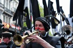 Parada de Zinneke o 19 de maio de 2012 Foto de Stock