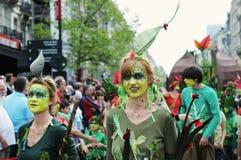 Parada de Zinneke o 19 de maio de 2012 em Bruxelas Imagem de Stock Royalty Free