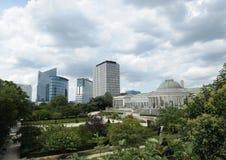 Bruxelas - botanique Fotografia de Stock Royalty Free