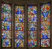 Bruxelas - cena da vida de Jesus - basílica Fotos de Stock Royalty Free
