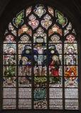 Bruxelas - crucificação do windowpane Imagem de Stock Royalty Free