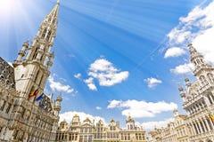 Bruxelas em Bélgica Fotografia de Stock
