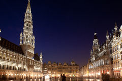 Bruxelas, Grand Place fotografia de stock