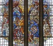 Bruxelas - recolhimento do maná - basílica Imagem de Stock Royalty Free