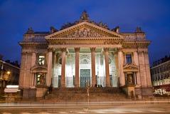 Bruxelas - a troca conservada em estoque de Bruxelas foto de stock royalty free