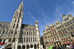 Bruxelles. Grand place in bruxelles, belgium stock photos