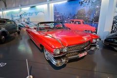 BRUXELLES, BELGIO - 5 dicembre 2016 - museo di Autoworld, vecchia raccolta delle automobili che mostra la storia delle automobili Immagini Stock Libere da Diritti