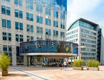 BRUXELLES, BELGIQUE - 16 juin 2016 : Extérieur du bâtiment de Images stock