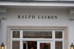 Ralph Lauren store stock photography