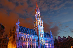 BRUXELLES, BELGIUM - JULY 2007: Bruxelles Town Hall Royalty Free Stock Photo