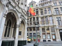 Bruxelles Capital. A moment in Grand Place Stock Photos