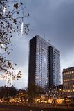 BRUXELLES - 1er décembre 2017 : L'hôtel Bruxelles est un hôtel de 4 étoiles autrefois connu sous le nom de Hilton Hotel Images stock