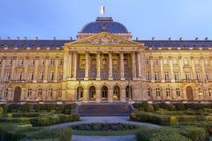 Bruxelles - Royal Palace - Belgio. Fotografie Stock Libere da Diritti