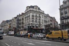 Bruxelles. Street photo in Bruxelles, Belgium royalty free stock photography