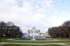 Bruxelles - voûte triomphale images libres de droits