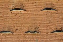 Brwi okno w Węgry Zdjęcia Royalty Free