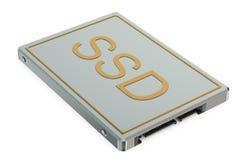 Bryła - stanu prowadnikowy SSD ilustracja wektor